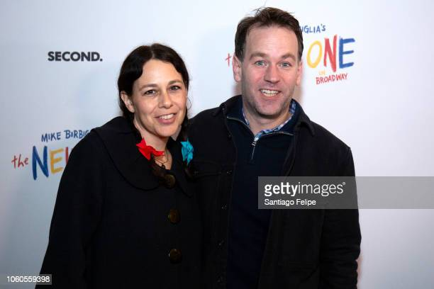 Jenny and Mike Birbiglia attend The New One Broadway Opening Night at Cort Theatre on November 11 2018 in New York City