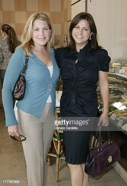 Jenny Belushi and Susie Sheinberg during Frederic Malle Fragrance Launch Breakfast at Barneys New York in Beverly Hills at Barney's Greengrass in...