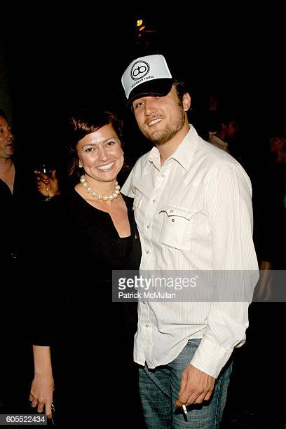Jenny Benzaquen and Alex Quinn attend Madonna Gallerie to Debut at W Hotel Los Angeles at W Hotel on May 16 2006 in New York City
