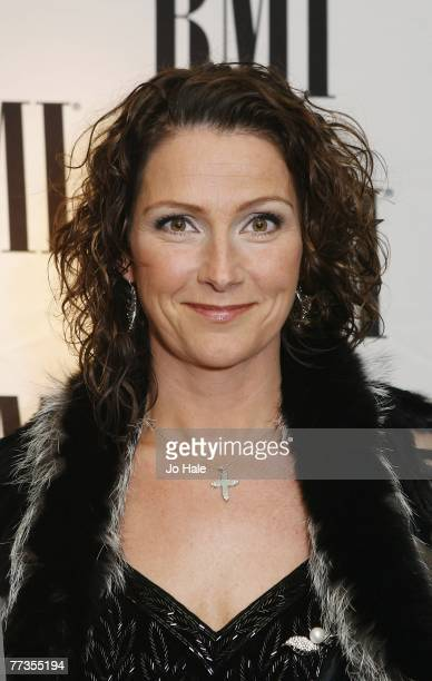 Jenny Berggren of Ace of Base receives an Award for the 4 Million selling 'The Sign' at the 2007 BMI Awards at the Dorchester Hotel October 16 2007...
