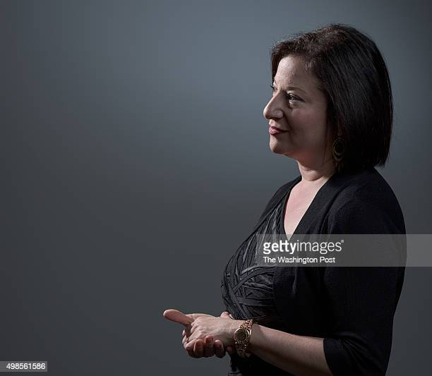 Jenny Bilfield, President and CEO of Washington Performing Arts, stands for a Just Asking portrait at the WPA office in Washington, D.C. On Nov. 6,...