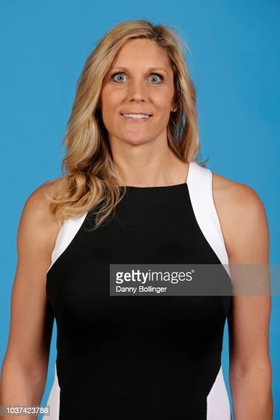 Jenny Boucek of the Dallas Mavericks poses for a head shot during the Dallas Mavericks Media Day on September 21 2018 at the American Airlines Center...