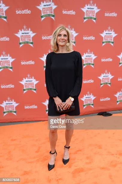 Jenny Boucek of the Seattle Storm poses for a photo during the WNBA AllStar Welcome Reception Presented by Visit Seattle as part of the 2017 WNBA...