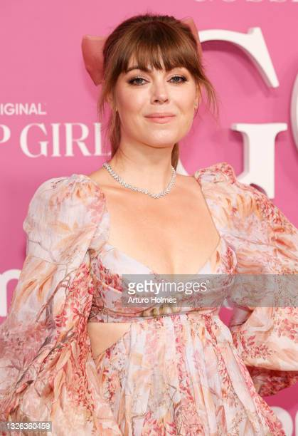 """Jenny Cipoletti attends the """"Gossip Girl"""" New York Premiere at Spring Studios on June 30, 2021 in New York City."""