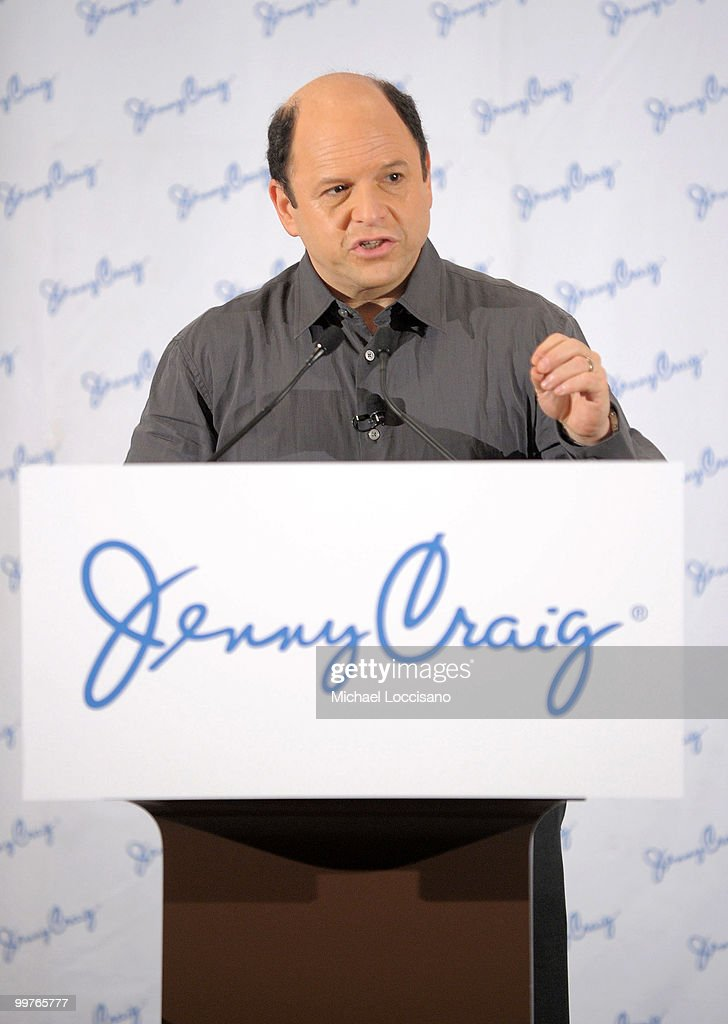 Jenny Craig client Jason Alexander addresses the press during his 30-pound weight loss debut press conference at The Pierre Hotel on May 17, 2010 in New York City.