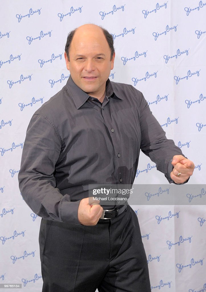 Jenny Craig client Jason Alexander makes his 30-pound weight loss debut during a press conference at The Pierre Hotel on May 17, 2010 in New York City.