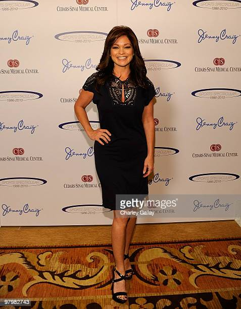 Jenny Craig spokesperson Valerie Bertinelli attends the CedarsSinai Sports Spectacular Women's Luncheon presented by Jenny Craig at Montage Beverly...