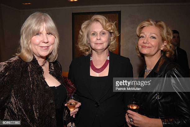 Jenny Dawes Georgia Shreve and Linda Morgan attend CHLOE SEVIGNY CARRIE IMBERMAN and MATTHEW IMBERMAN Host The Opening Of KENTSHIRE'S Newest Gallery...