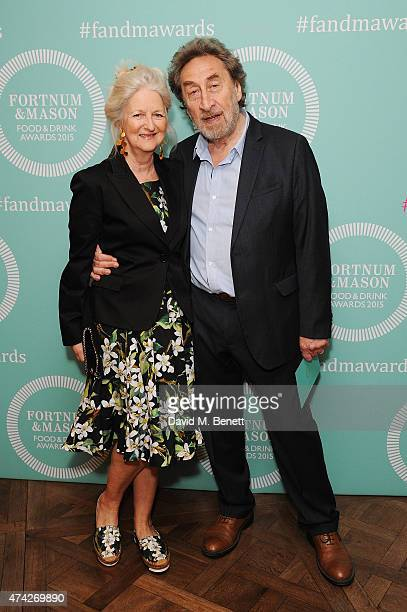 Jenny De Yong and Howard Jacobson attend the third annual Fortnum Mason Food Drink Awards 2015 on May 21 2015 in London England The awards celebrate...