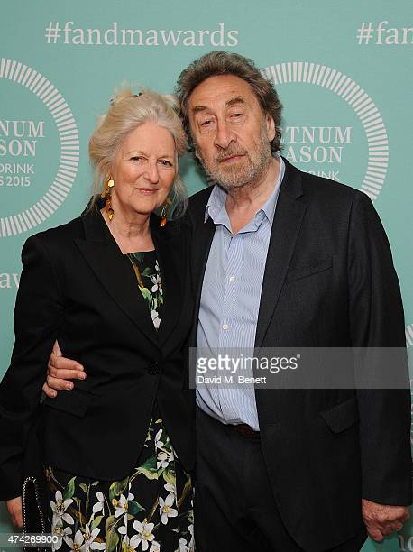 Jenny De Yong and Howard Jacobson attend the third annual Fortnum & Mason Food & Drink Awards 2015 on May 21, 2015 in London, England. The awards...