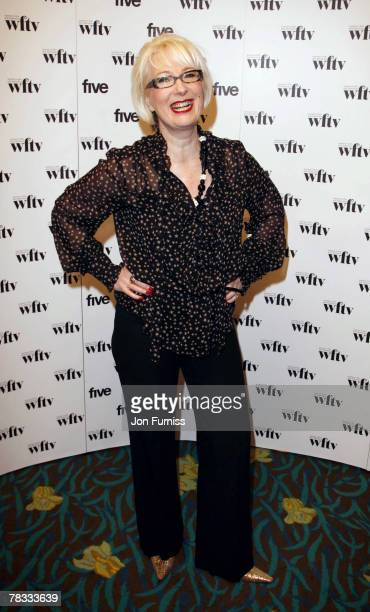 Jenny Eclair at the 'Five' Women in Film and Television Awards at the Hilton Hotel on December 07 2007 in London England