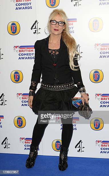Jenny Eclair attends British Comedy Awards at Indigo at O2 Arena on January 22 2011 in London England