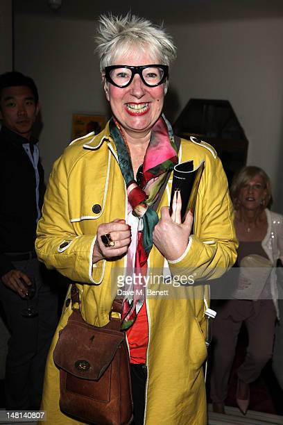Jenny Eclair attends the 'The Hurly Burly Show' press night on July 10 2012 on London England