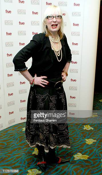 Jenny Eclair during 2005 Women in Film and Television Awards at Hilton Park Lane in London Great Britain