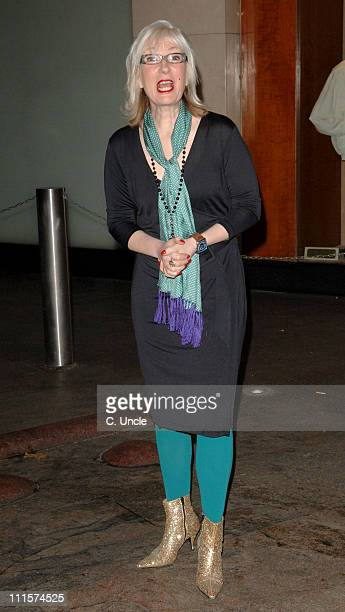 Jenny Eclair during five Women In Film And TV Awards Outside Arrivals at Hilton in London Great Britain
