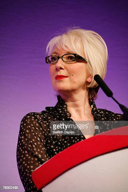 Jenny Eclair presents at the 'Five' Women in Film and Television Awards at the Hilton Hotel on December 07 2007 in London England