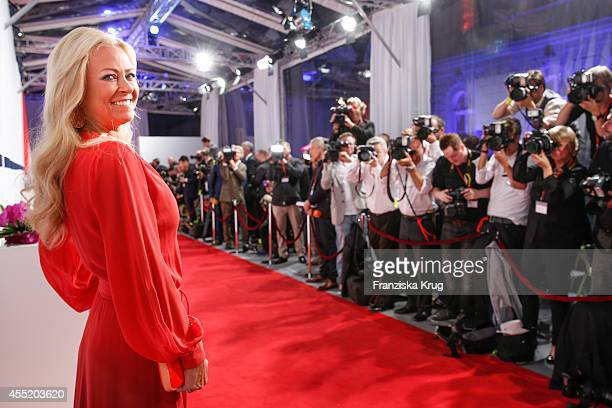 Jenny Elvers attends the Bertelsmann Summer Party at the Bertelsmann representative office on September 10 2014 in Berlin Germany