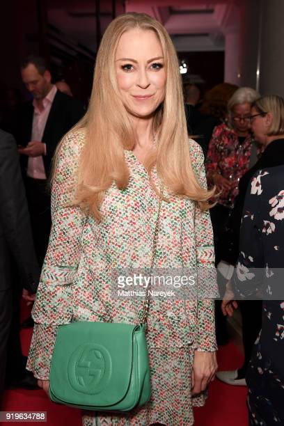 Jenny Elvers attends the Medienboard BerlinBrandenburg Reception during the 68th Berlinale International Film Festival Berlin at on February 17 2018...