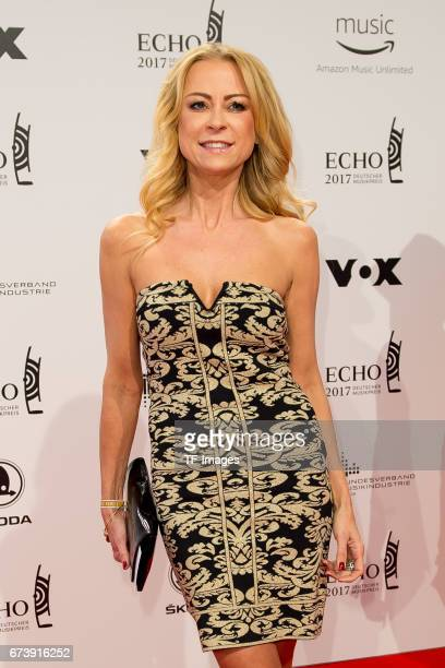 Jenny Elvers on the red carpet during the ECHO German Music Award in Berlin Germany on April 06 2017