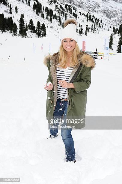 Jenny ElversElbertzhagen attends the 3 Tirol Cross Mountain in Kuehtai Austria