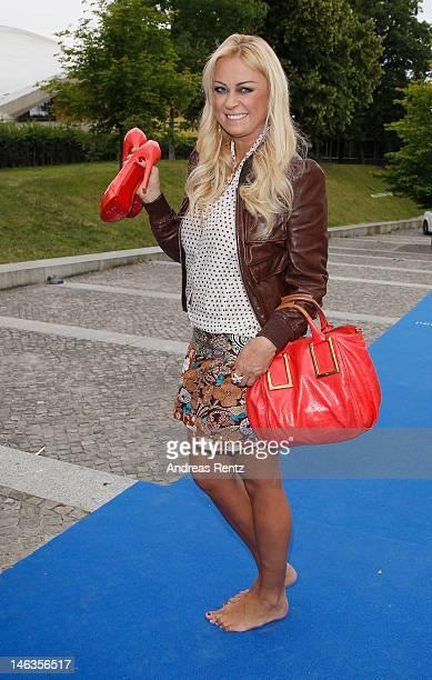 Jenny ElversElbertzhagen attends the producer party 2012 of the German producers alliance on June 14 2012 in Berlin Germany
