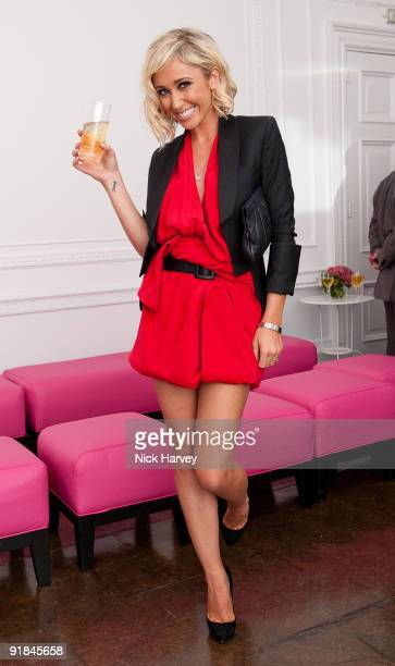 Jenny Frost attends the Hair Magazine Awards on September 29 2009 in London England