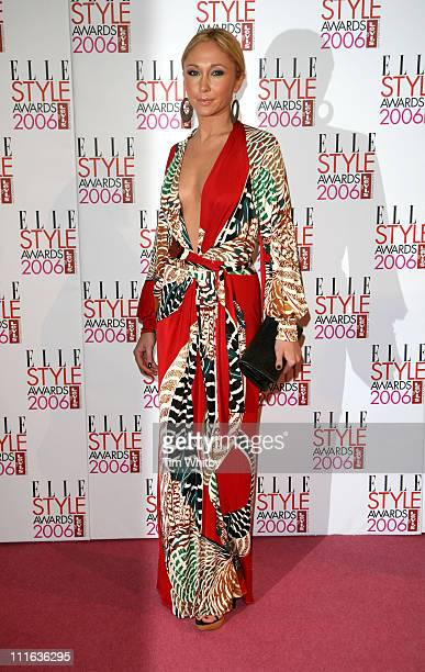 Jenny Frost during Elle Style Awards 2006 Outside Arrivals at Old Truman Brewery in London Great Britain