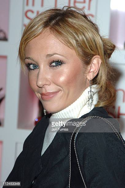 Jenny Frost during In Her Shoes London Premiere After Party at grosvenor House Ballroom in London Great Britain