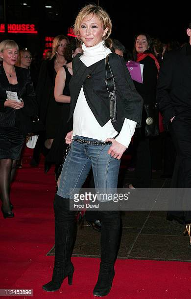 Jenny Frost during In Her Shoes London Premiere Arrivals at UCI Empire Leicester Square in London Great Britain