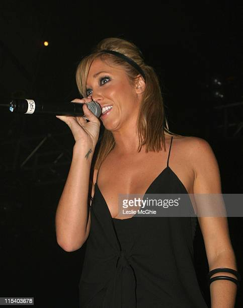 Jenny Frost during Liberty X and Jenny Frost in Concert at GAY October 1 2005 at The Astoria in London United Kingdom
