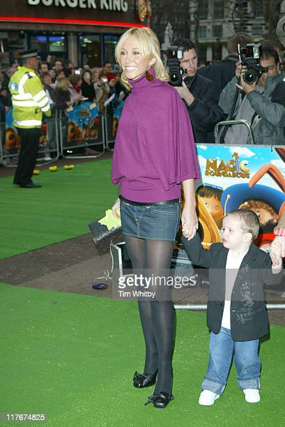Jenny Frost during The Magic Roundabout Premiere Arrivals at Vue Leicester Square in London Great Britain