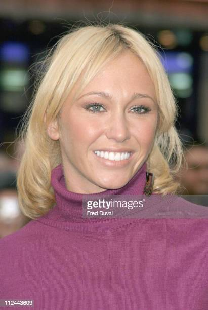 Jenny Frost during The Magic Roundabout Premiere Arrivals at Vue West End in London United Kingdom