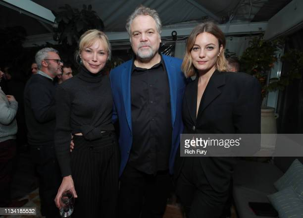 Jenny Gabrielle Vincent D'Onofrio and Leila George attend the after party for the premiere of Lionsgate's The Kid on March 06 2019 in Hollywood...