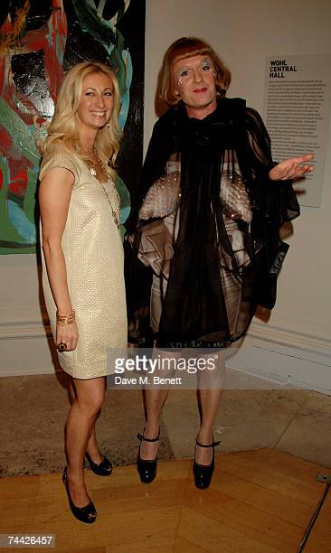 Jenny Halpern and Grayson Perry attend the party for the Royal Academy Summer Exhibition at the Royal Academy of Arts on June 6 2007 in London England