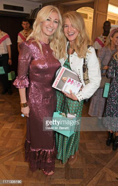 Jenny Halpern Prince and Avery Agnelli attend the 6th annual Lady Garden Foundation ladies lunch at Fortnum Mason on September 26 2019 in London...
