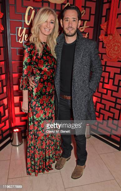 Jenny Halpern Prince and Ryan Prince attend Chinese New Year 2020 at Annabel's on January 25 2020 in London England