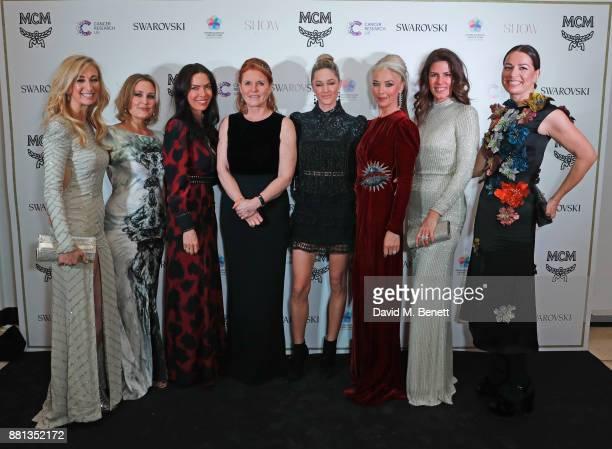 Jenny Halpern Prince, Mika Simmons, Josephine Daniel, Sarah Ferguson, Duchess of York, Storm Keating, Tamara Beckwith, Christina Estrada and Yana...