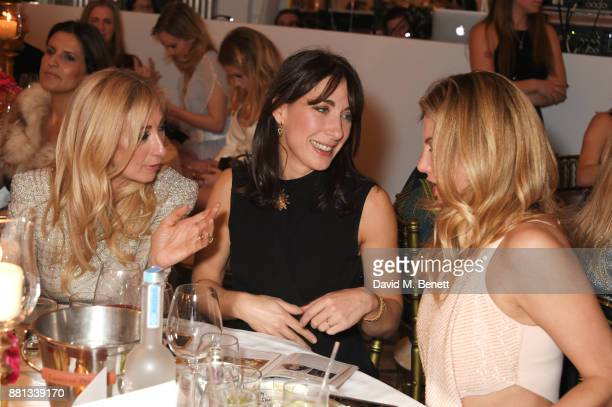Jenny Halpern Prince Samantha Cameron and Inge Theron attend the Lady Garden Gala in aid of Silent No More Gynaecological Cancer Fund and Cancer...