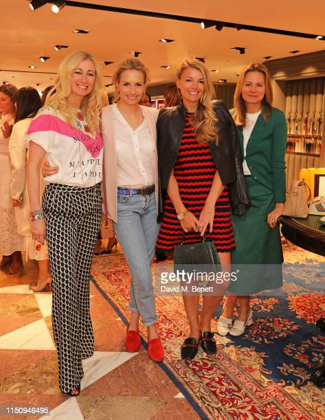 Jenny Halpern Prince Sofia Wellesley Amy Gardner and Jane Gottschalk attend the launch of the exclusive Lady Garden Tshirt at Breakfast at Gucci...