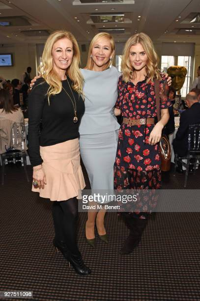 Jenny Halpern Prince Tania Bryer and Donna Air attend Turn The Tables 2018 hosted by Tania Bryer and James Landale in aid of Cancer Research UK at...