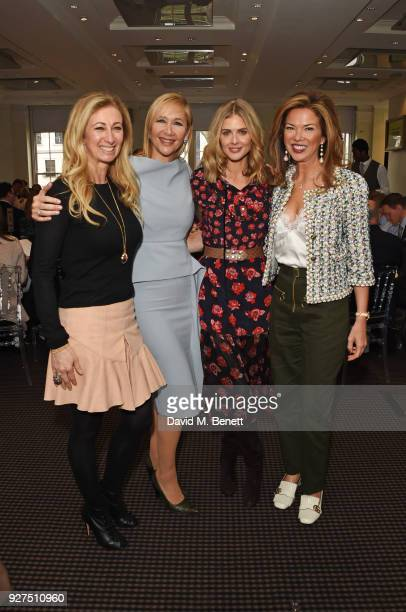 Jenny Halpern Prince Tania Bryer Donna Air and Heather Kerzner attend Turn The Tables 2018 hosted by Tania Bryer and James Landale in aid of Cancer...