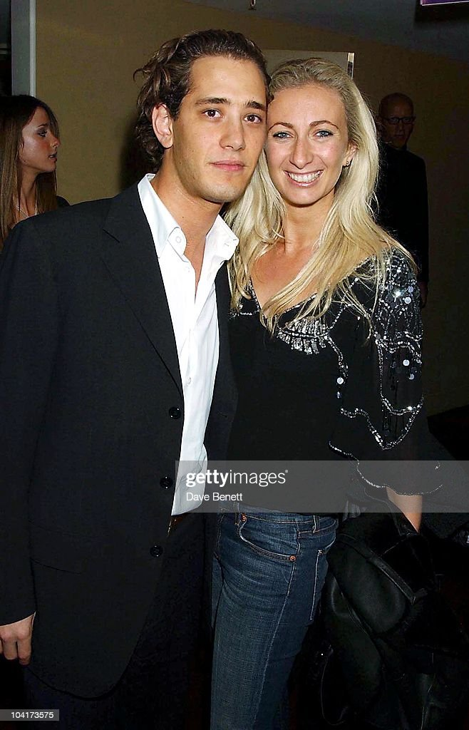 Jenny Halpern With Her New Husband (just Back From Their Honeymoon In East Africa), Matthew Melon S New Shop Harrys, Selling Mens Shoes Launch Party, At The Fifth Floor In Harvey Nichols With A Little Help From Quintesential