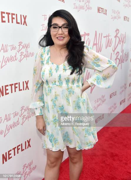 Jenny Han attends a screening of Netflix's To All The Boys I've Loved Before at Arclight Cinemas Culver City on August 16 2018 in Culver City...