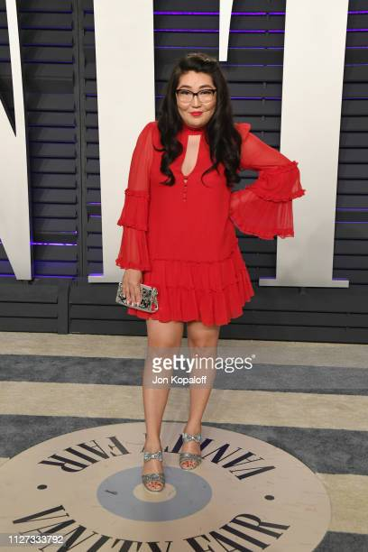 Jenny Han attends the 2019 Vanity Fair Oscar Party hosted by Radhika Jones at Wallis Annenberg Center for the Performing Arts on February 24 2019 in...