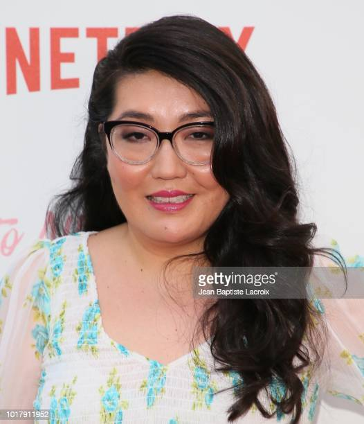 Jenny Han attends the Screening Of Netflix's 'To All The Boys I've Loved Before' Arrivals at Arclight Cinemas Culver City on August 16 2018 in Culver...
