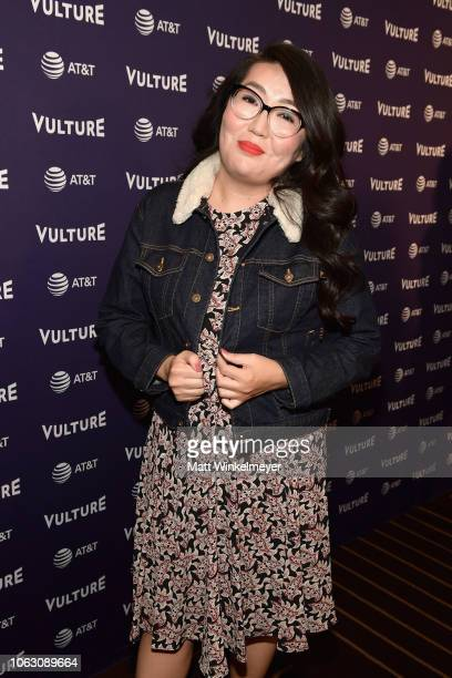 Jenny Han attends the Vulture Festival presented by ATT at Hollywood Roosevelt Hotel on November 17 2018 in Hollywood California