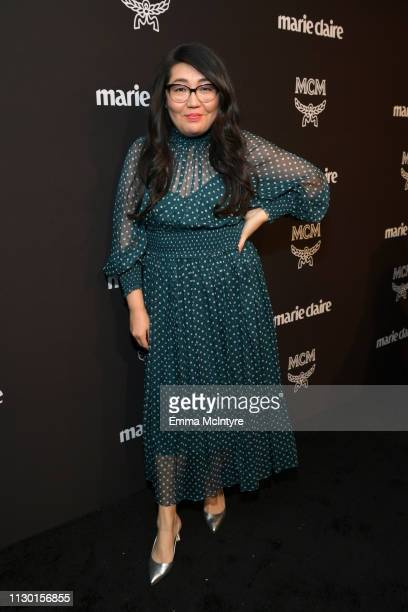 Jenny Han is seen as Marie Claire honors Hollywood's Change Makers on March 12 2019 in Los Angeles California