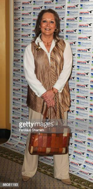 Jenny Hanley attends Lionel Blair's Celebrations of 60 Years in Showbusiness at The Dorchester on May 31 2009 in London England