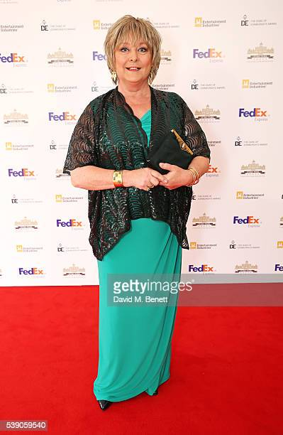 Jenny Hanley attends the Duke of Edinburgh Award 60th Anniversary Diamonds are Forever Gala at Stoke Park on June 9 2016 in Guildford England