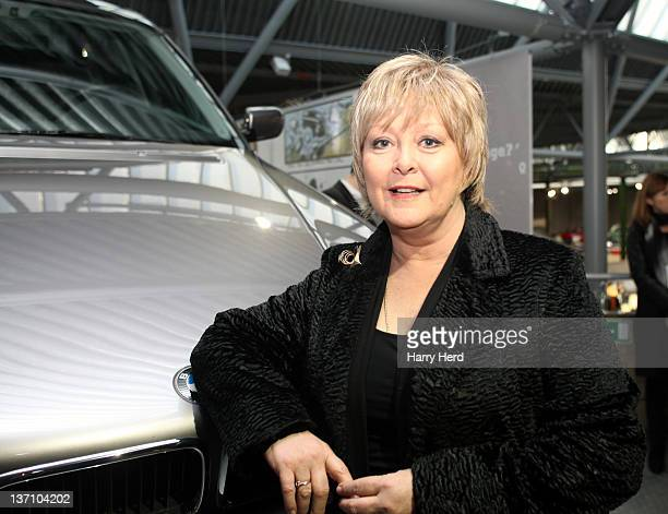 Jenny Hanley attends the launch of 'Bond In Motion Launch Event The World's Largest Retrospective Of Bond Vehicles' the official exhibition of 50...